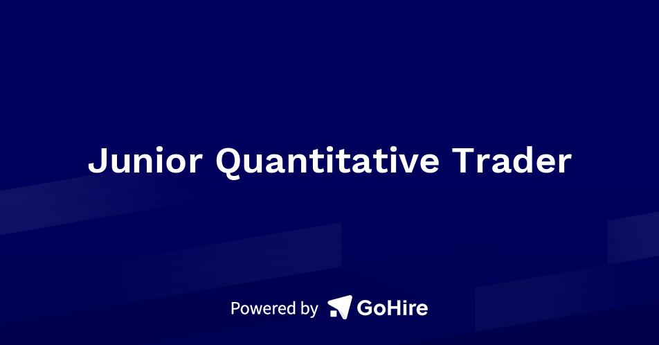 Junior Quantitative Trader at Winston Fox