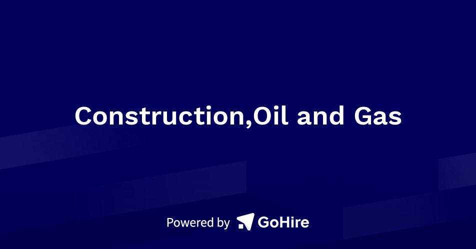 Construction,Oil and Gas at JOB-WEB RECRUITMENT AGENCY