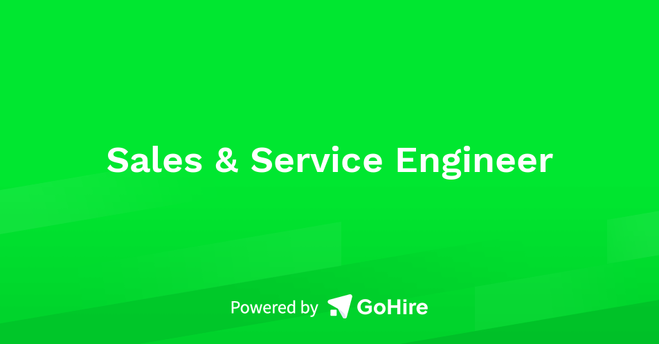 Image result for Sales & Service Engineer
