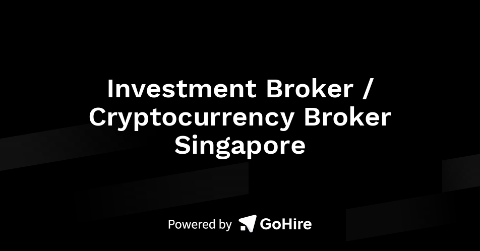 cryptocurrency broker singapore